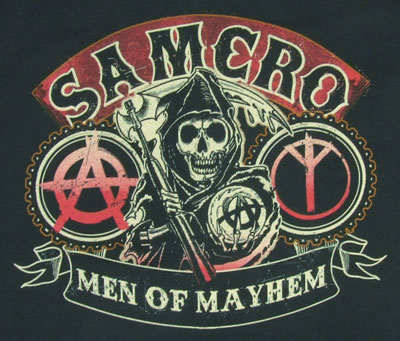 Men Of Mayhem - Sons Of Anarchy T-shirt