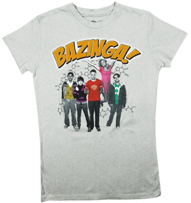 Bazinga Group - Big Bang Theory T-shirt