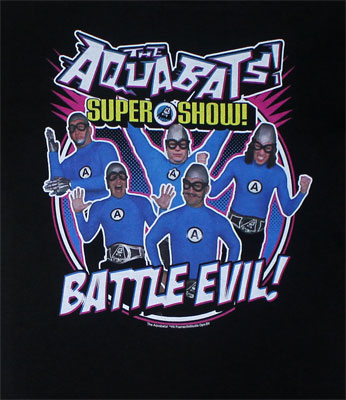 Battle Evil! - Aquabats Youth T-shirt
