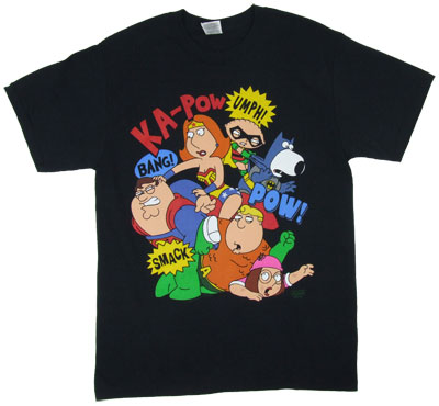 Super Brawl - Family Guy T-shirt