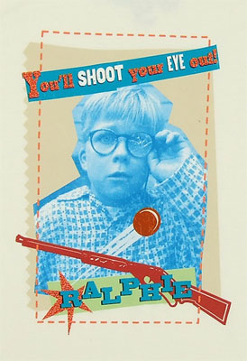 You'll Shoot Your Eye Out - A Christmas Story Sheer Women's T-shirt