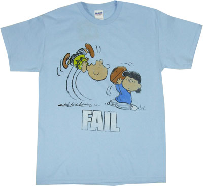 Fail - Peanuts T-shirt