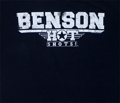 Benson - Hot Shots! Sheer T-shirt