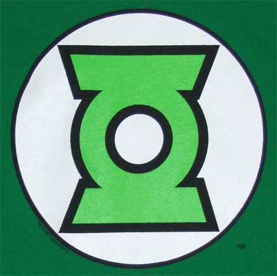 Green Lantern Logo - DC Comics Youth T-shirt