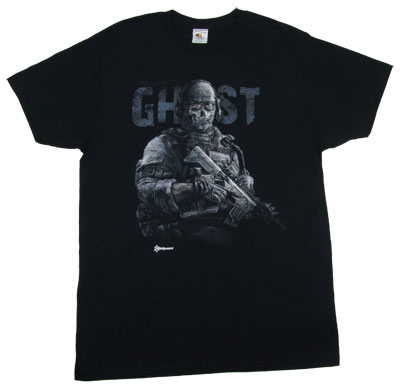 Ghost - Call Of Duty Modern Warfare 2 Sheer T-shirt