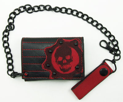 Red Skull - Gears Of War Chain Wallet