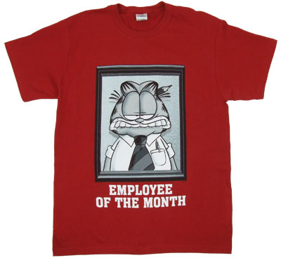 Employee of the Month - Garfield T-shirt