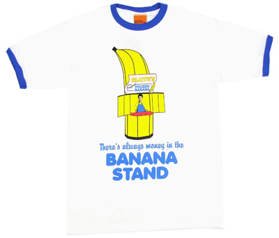 There&#039;s Always Money In The Banana Stand - Arrested Development Ringer T-shirt