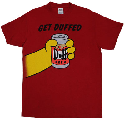 Get Duffed - Simpsons T-shirt