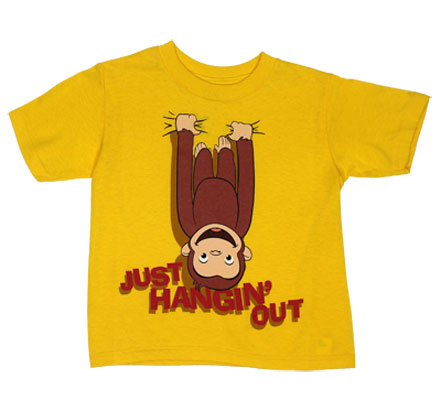 Just Hangin' Out - Curious George Toddler T-shirt