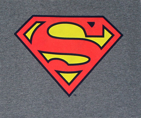 Superman Logo - DC Comics Long Sleeve T-shirt