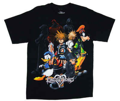 Heart Group - Kingdom Hearts T-shirt