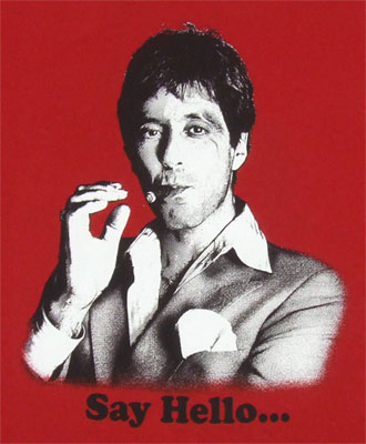 Say Hello... - Scarface T-shirt