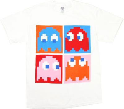 Four Ghosts - Pac-Man T-shirt