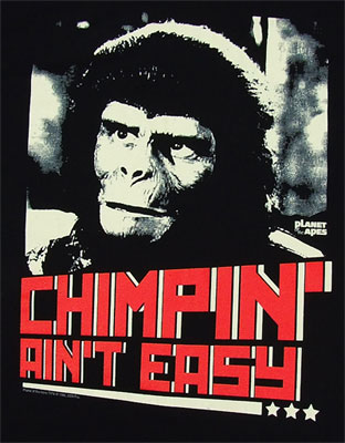 Chimpin Aint Easy - Planet Of The Apes Sheer T-shirt