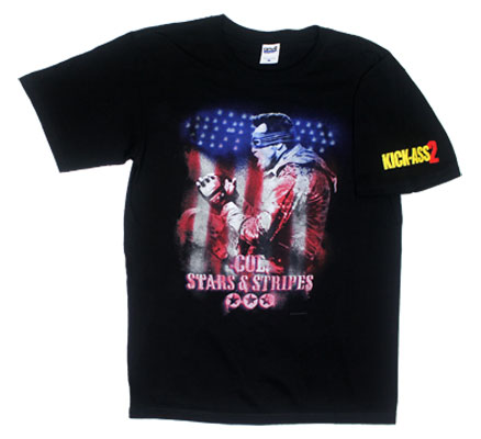 Col. Stars And Stripes - Kick Ass T-shirt