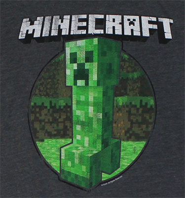 Retro Creeper - Minecraft Sheer Women's T-shirt