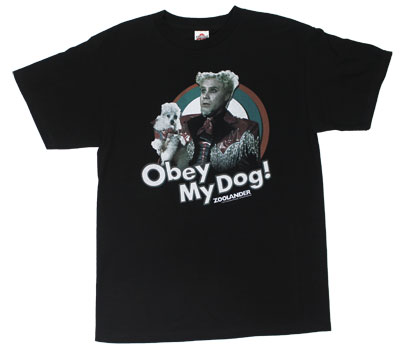 Obey My Dog! - Zoolander T-shirt