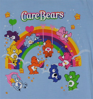 Friends - Care Bears Sheer Women's T-shirt