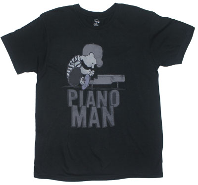 Piano Man - Peanuts Sheer T-shirt