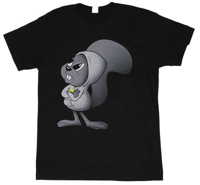 Angry Rocky - Rocky And Bullwinkle T-shirt