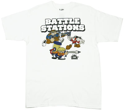 Battle Stations - Codename: Kids Next Door T-shirt