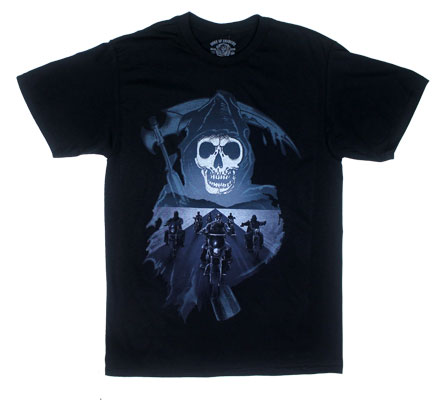 Reaper And Desert Highway - Sons Of Anarchy T-shirt