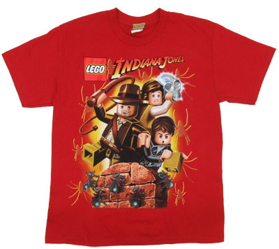 The Crystal Skull - LEGO Indiana Jones Boys T-shirt