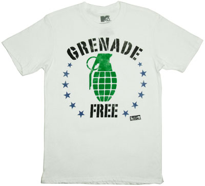 Grenade Free - Jersey Shore T-shirt
