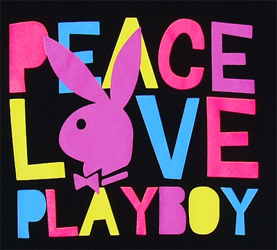 Peace Love Playboy - Playboy Sheer Women's T-shirt