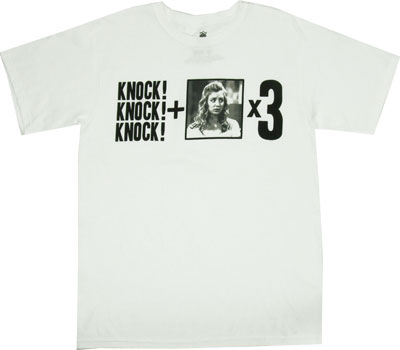 Knock Knock Knock + Penny x 3 - Big Bang Theory T-shirt
