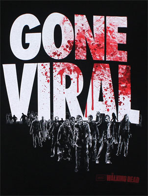 Gone Viral - Walking Dead T-shirt