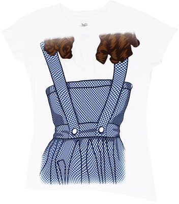 Dorothy Costume - Wizard Of Oz Sheer Women's T-shirt