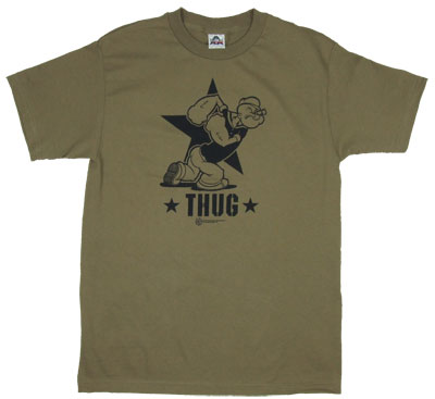 Thug - Popeye T-shirt