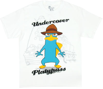 Agent P - Phineas And Ferb Boys T-shirt
