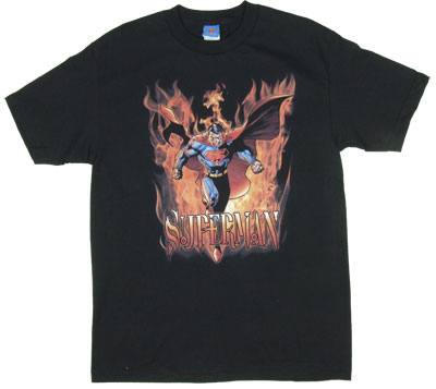 Through The Fire - Superman - DC Comics T-shirt