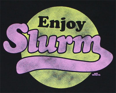Enjoy Slurm - Futurama T-shirt