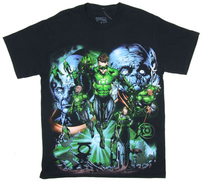 Lanterns Fly - Green Lantern Movie T-shirt