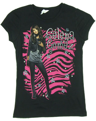 Selena Gomezshirt on Selena Gomez Product This T Shirt Features Selena Gomez Sheer T Shirts