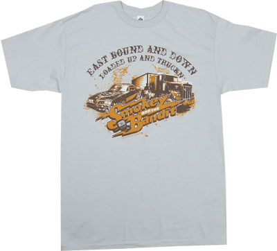 Loaded Up And Truckin - Smokey And The Bandit T-shirt