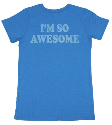 I'm So Awesome - Yo Gabba Gabba - Junk Food Women's T-shirt