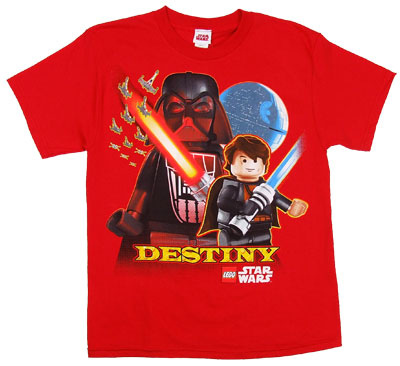 Destiny - LEGO Star Wars Boys T-shirt