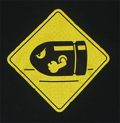 Bullet Bill Crossing - Nintendo T-shirt