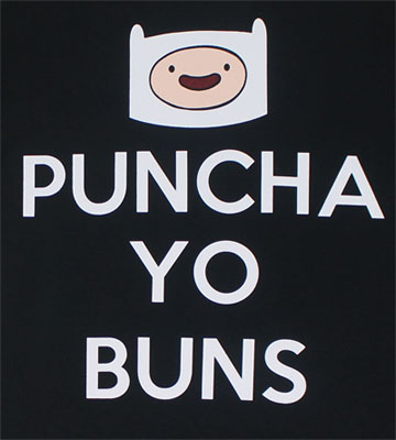 Puncha Yo Buns - Adventure Time T-shirt