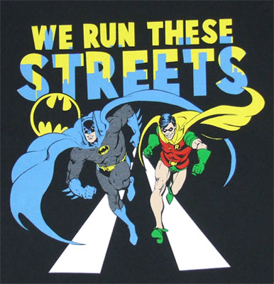 We Run These Streets - DC Comics T-shirt