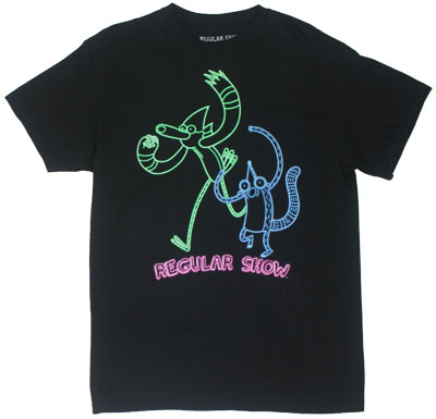 Neon - Regular Show T-shirt
