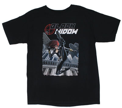 Black Widow - Marvel Comics T-shirt