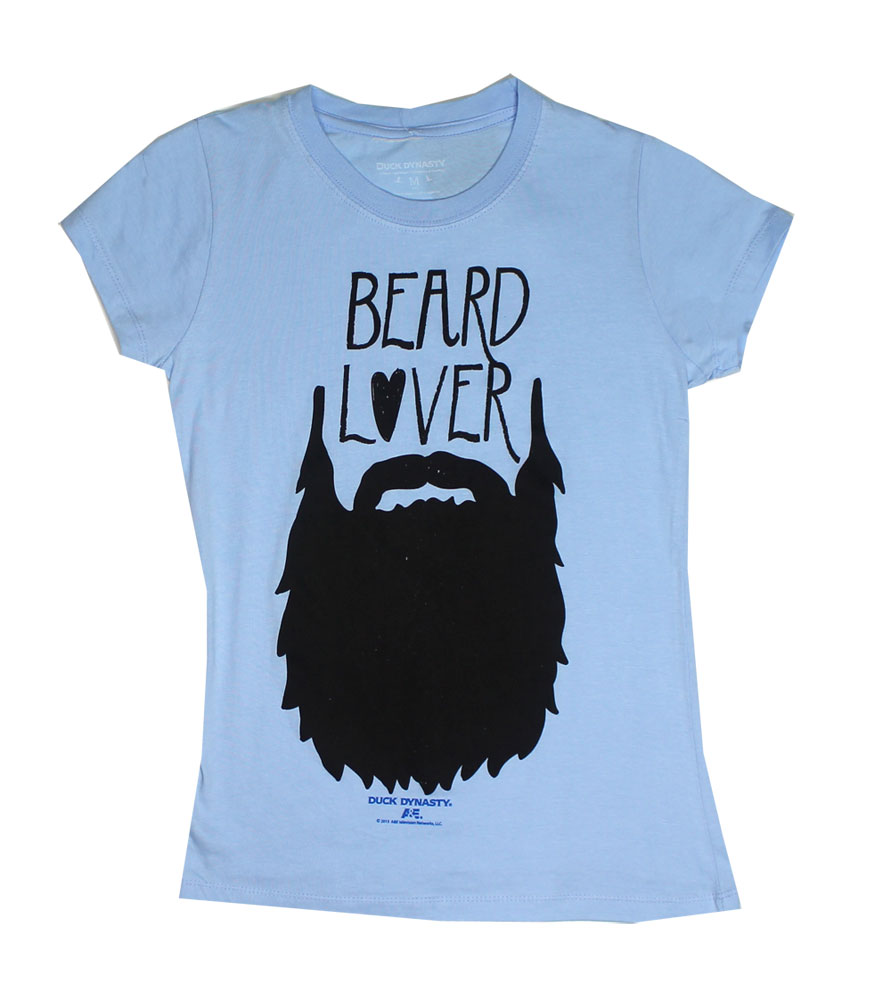 Beard Lover - Duck Dynasty Juniors T-shirt