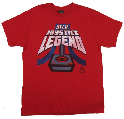 Joystick Legend On Red - Atari Sheer T-shirt