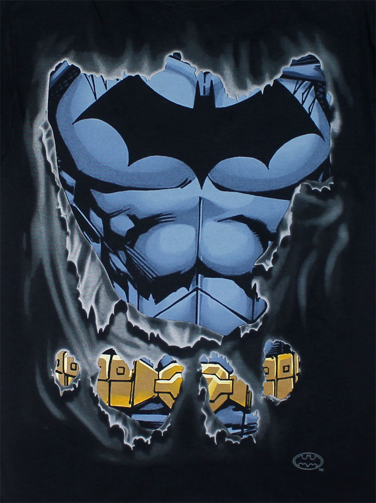 Batman Ripped - DC COmics T_shirt